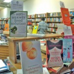 avid book display with antianxiety food solution
