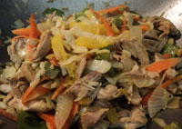 orange chicken stir fry vitamin C