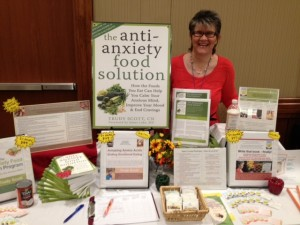 My booth at the recent IMMH conference