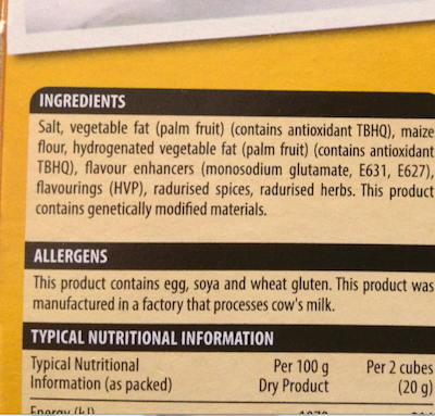 knorox-ingredients