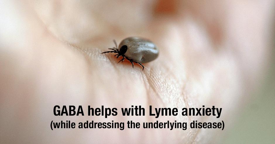 gaba and lyme anxiety
