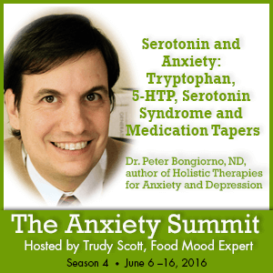 Tryptophan for anxiety