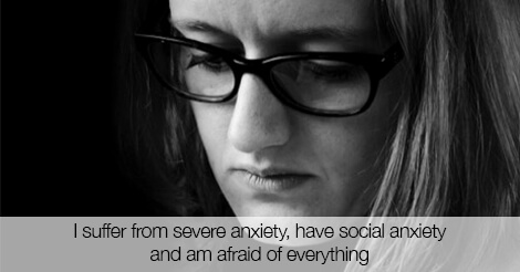 how to get over severe social anxiety