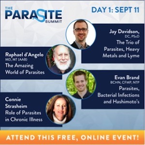 Parasites, heavy metals and Lyme disease on the Parasite