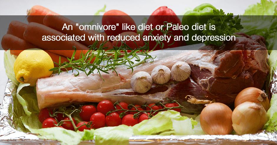 "An ""omnivore"" like diet or Paleo diet"