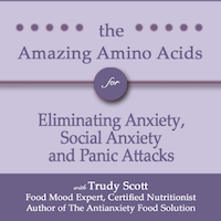 The Antianxiety Food Solution Amino Acid and Pyroluria Supplements