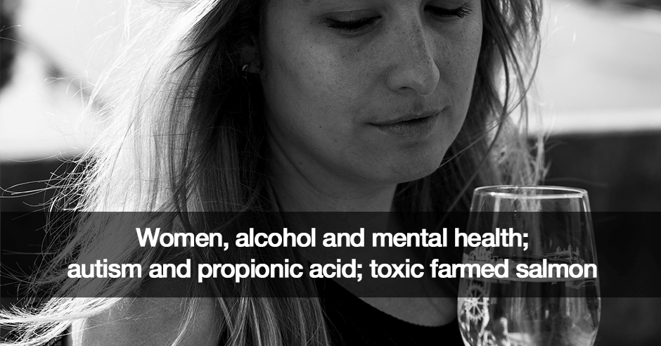 women alcohol mental health