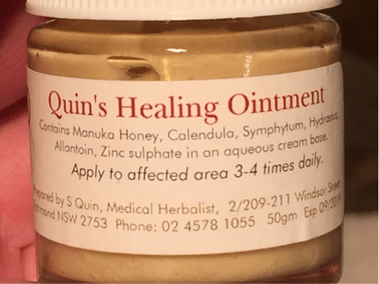 quin's healing ointment