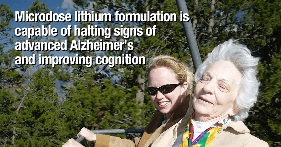 microdose lithium formulation and alzheimer