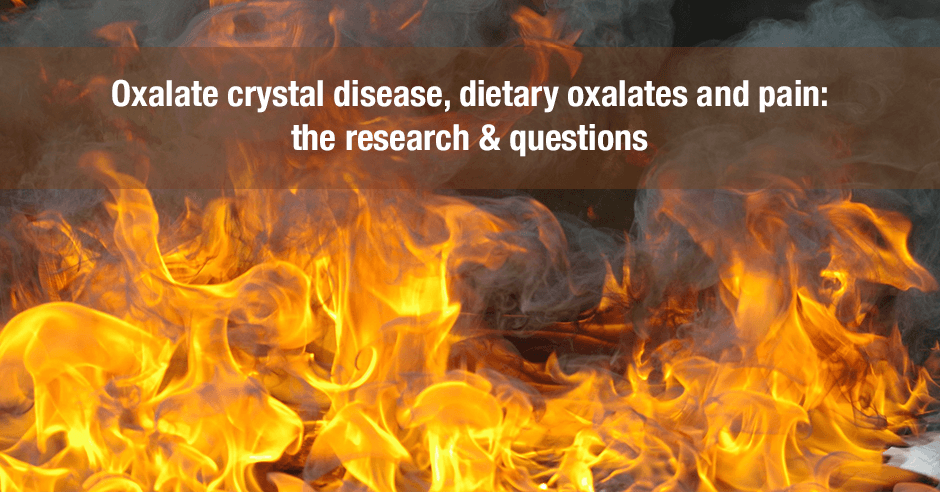 oxalate crystal disease