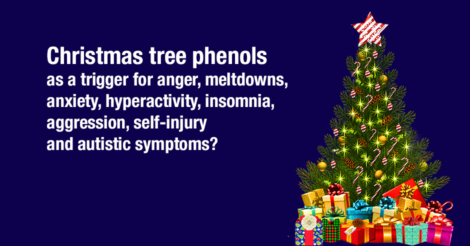 christmastree phenols and anxiety
