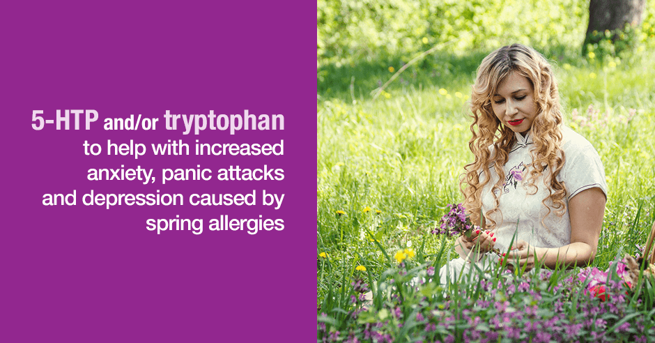 5-htp, tryptophan, and spring allergies