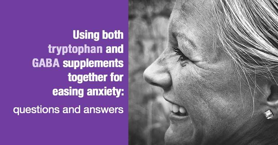 tryptophan and gaba for anxiety