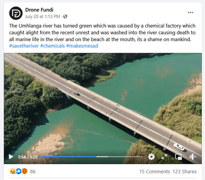 Umhlanga river