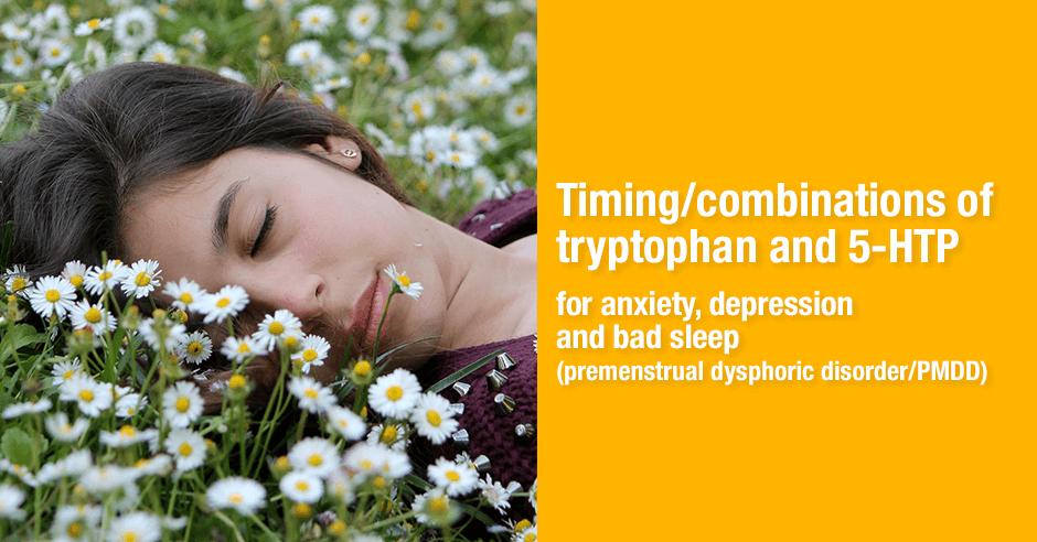 tryptophan 5-htp timing