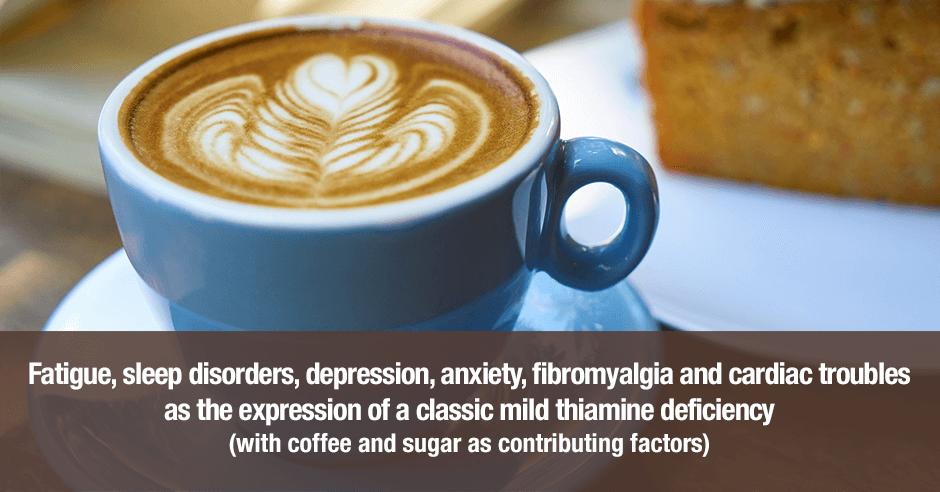 coffee sugar thiamine